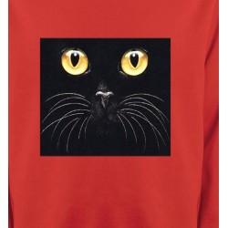 Sweatshirts Sweatshirts Unisexe Chat noir (H1)