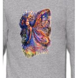 Sweatshirts Fées et Elfes Fée multicolore