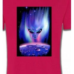 T-Shirts Planètes et Aliens Planete et Alien