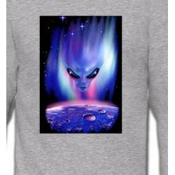 Sweatshirts Planètes et Aliens Planete et Alien
