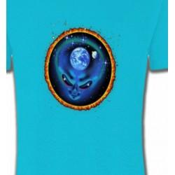 T-Shirts Planètes et Aliens Alien et Planete