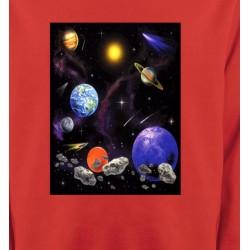 Sweatshirts Planètes et Aliens Planètes