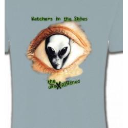 T-Shirts Planètes et Aliens Watchers in the skies