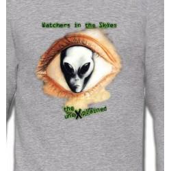 Sweatshirts Planètes et Aliens Watchers in the skies