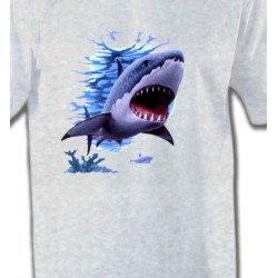 T-Shirts Aquatique Requin