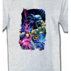 T-Shirts Aquatique 2 Dauphins
