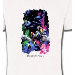 T-Shirts Aquatique Dauphins et poissons