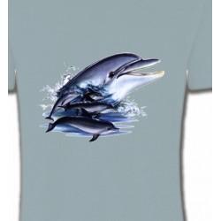 T-Shirts Aquatique Dauphins (C)