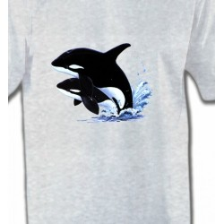 T-Shirts Aquatique Orques