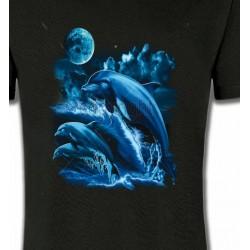T-Shirts Aquatique Sauts de dauphins (W2)