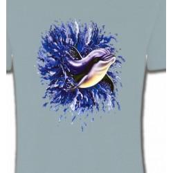 T-Shirts Aquatique Dauphins (H)