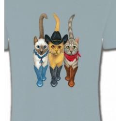 T-Shirts Devant/derrière Chats
