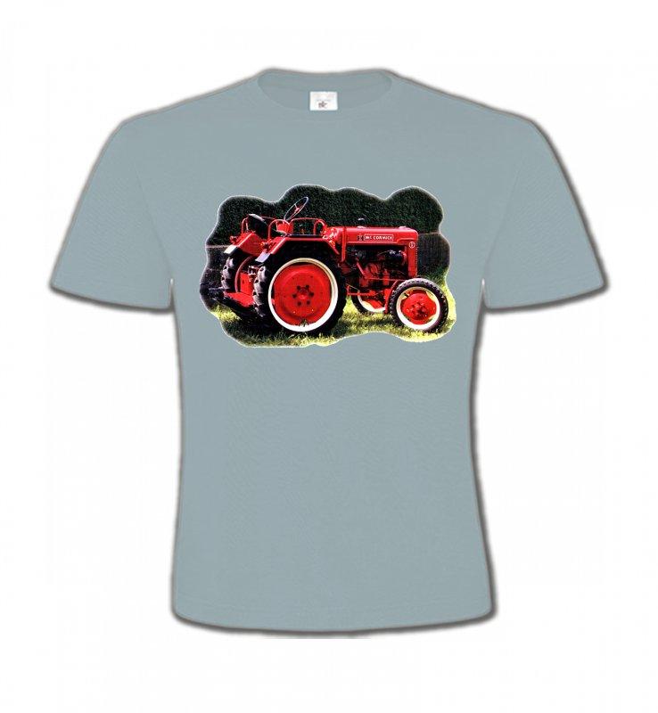 T-Shirts Col Rond EnfantsTracteursTracteur Mc. CORMICK (2S)