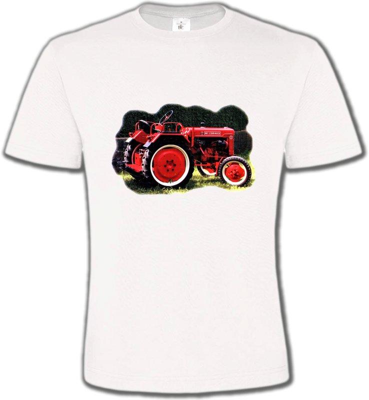 T-Shirts Col Rond UnisexeTracteursTracteur Mc. CORMICK (2S)