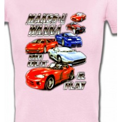 T-Shirts Véhicule Voiture Passion (O)