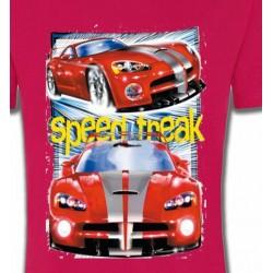 T-Shirts Véhicule Voiture de course (A)