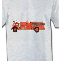 T-Shirts Véhicule Camion de pompier (J)