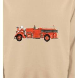 Sweatshirts Véhicule Camion de pompier (J)