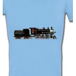 T-Shirts Véhicule Train  Locomotive époque (G)