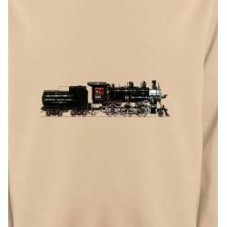 Sweatshirts Véhicule Train  Locomotive époque (G)