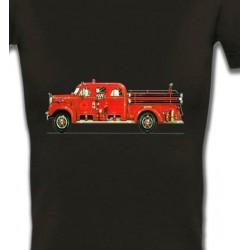 T-Shirts Véhicule Camion de pompier (L)