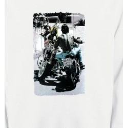 Sweatshirts Véhicule Romantisme et Moto