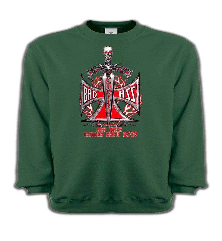 Sweatshirts EnfantsTribal Métal CeltiqueChoppers Bad Ass Biker