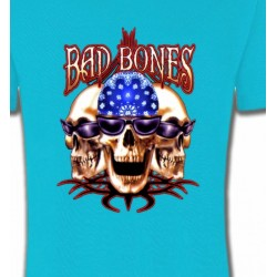 T-Shirts Tribal Métal Celtique Bad Bones