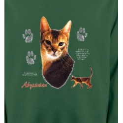 Sweatshirts Sweatshirts Enfants Chat Abyssin (P)