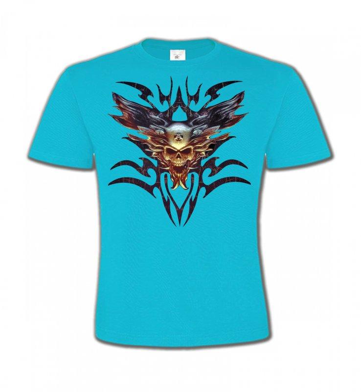 T-Shirts Col Rond EnfantsDragonsBikers tribal (V)