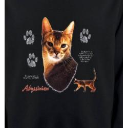 Sweatshirts Sweatshirts Unisexe Chat Abyssin (P)