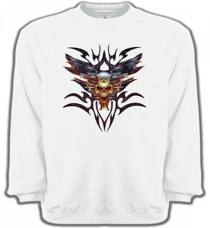 Sweatshirts UnisexeDragonsBikers tribal (V)