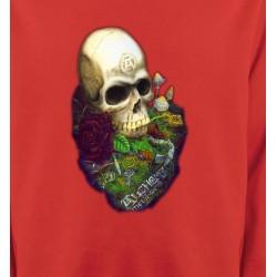 Sweatshirts Véhicule Tête de mort (Bikers)