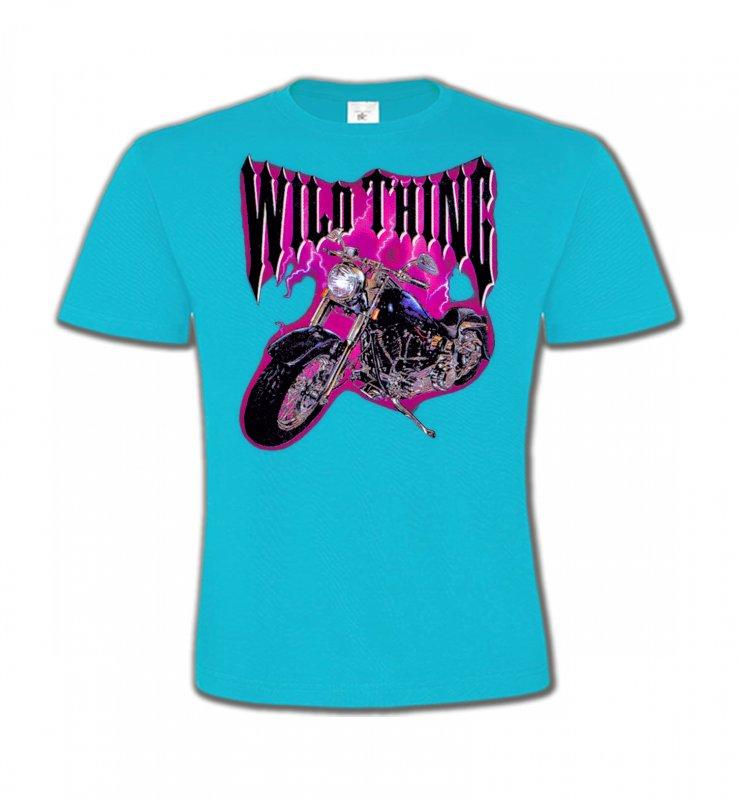 T-Shirts Col Rond EnfantsTribal Métal CeltiqueMoto Wild Thing