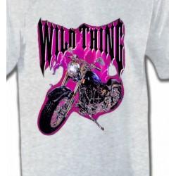 T-Shirts Véhicule Moto Wild Thing