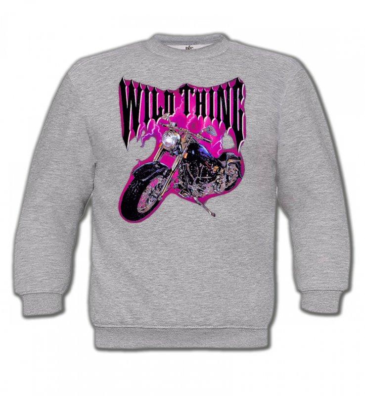 Sweatshirts EnfantsTribal Métal CeltiqueMoto Wild Thing