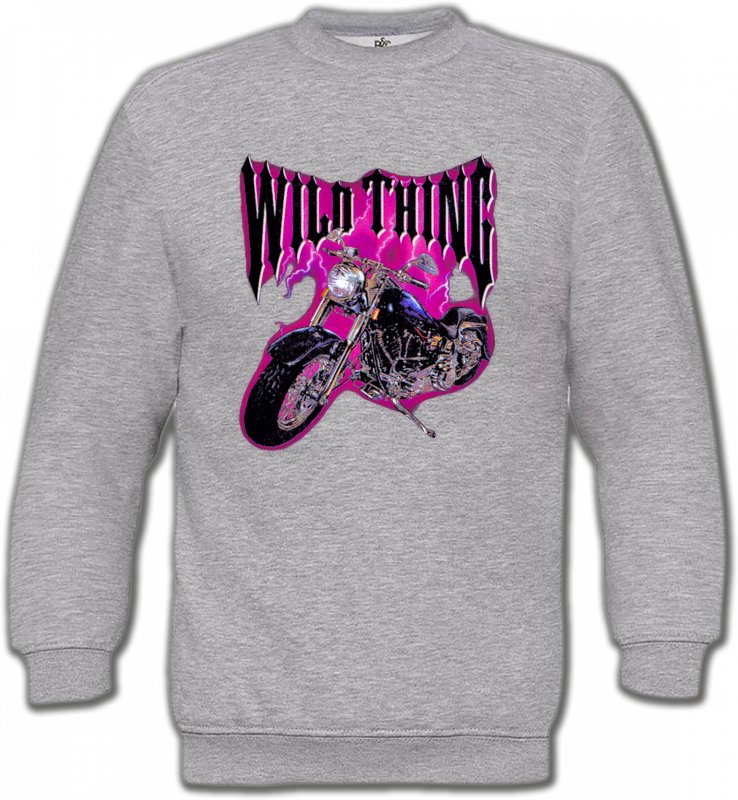 Sweatshirts UnisexeTribal Métal CeltiqueMoto Wild Thing