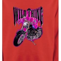 Sweatshirts Véhicule Moto Wild Thing