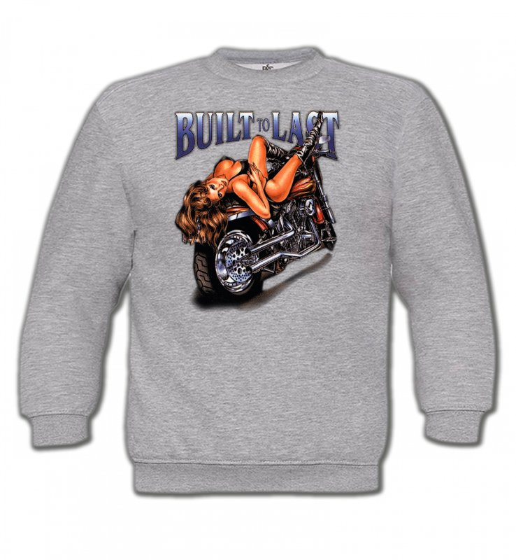Sweatshirts EnfantsTribal Métal CeltiqueMoto et Bimbo