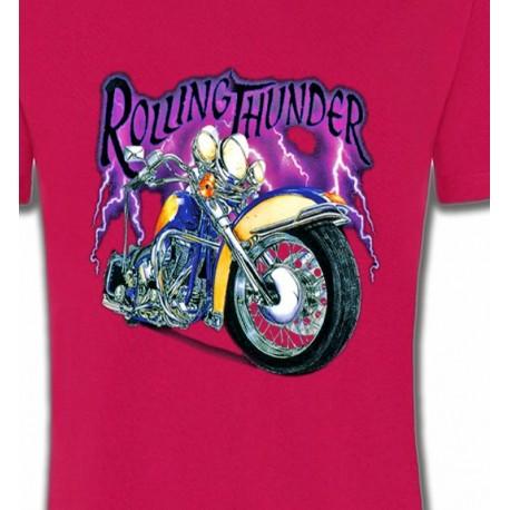 Et Sweat Moto Avec Shirt T Foudre CQhsdtrx