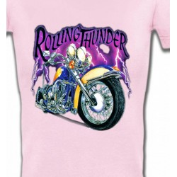 T-Shirts Véhicule Moto Rolling Thunder (A2)