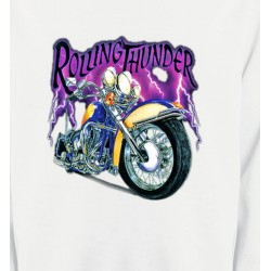 Sweatshirts Véhicule Moto Rolling Thunder (A2)