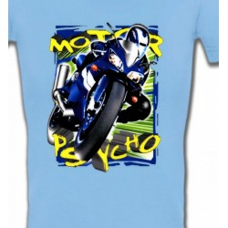 T-Shirts Véhicule Moto psycho (O)