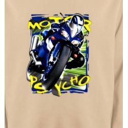 Sweatshirts Véhicule Moto psycho (O)