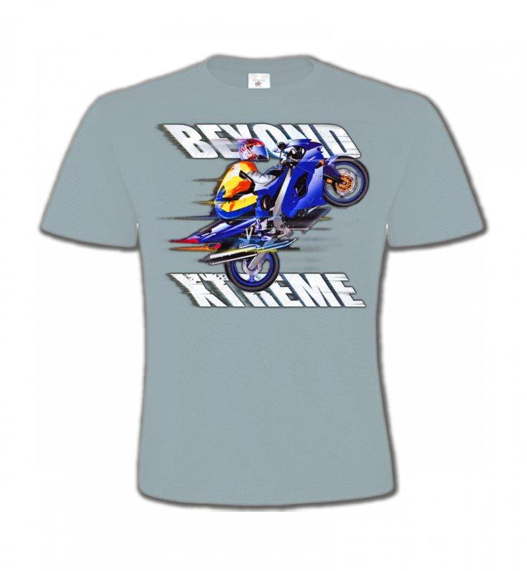 T-Shirts Col Rond EnfantsSports et passionsMoto Xtreme (C)