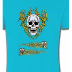 T-Shirts Véhicule Crâne tribal (Bikers)