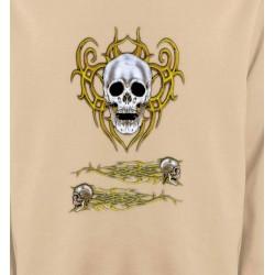 Sweatshirts Véhicule Crâne tribal (Bikers)