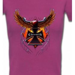 T-Shirts Véhicule Croix choppers et ailes (Bikers)