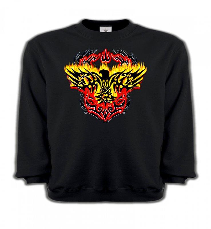 Sweatshirts EnfantsAiglesAigle tribal aigle flamme