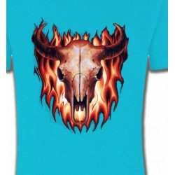 T-Shirts Véhicule Crâne de taureau (V)